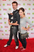Jesse Warren, actress Autumn Reeser and son Finn