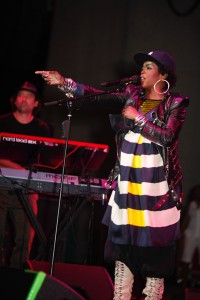 Lauryn Hill performs at Chene Park in Detroit