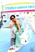 Minnie Driver and son Henry at Elizabeth Glaser fundraiser