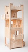 toiledoi wooden dollhouse