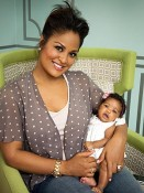 Laila Ali and daughter Sydney