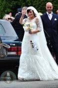 Lily Allen at her wedding