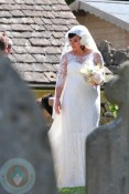 Lily Allen at her wedding