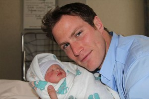 James Bailey with son J