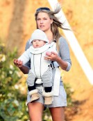 Ali Larter with son Theodore