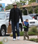 Tom Brady with son John