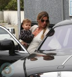 Gisele Bundchen with son Ben