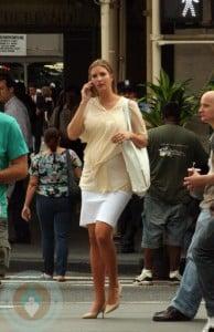 Pregnant Ivanka Trump in NYC