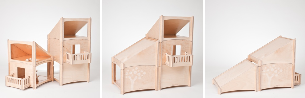Toideloi Stackhouse A Funky Modular Dollhouse For Boys And Girls