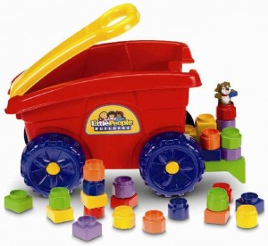 Photo of recalled Fisher-Price Little People Builders' Load 'n Go Wagon