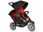 image of phil&teds Explorer recalled stroller w/doubles kit