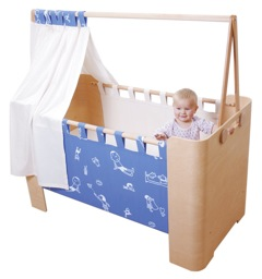 Modern and Multifunctional ~ Mio Form Convertible Crib