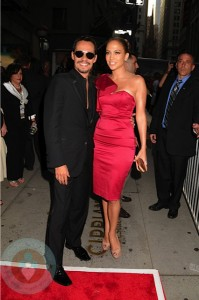 Jennifer Lopez and husband Marc Anthony at the Samsung Hope For Children Gala
