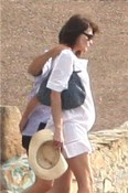 A pregnant Carla Bruni-Sarkozy