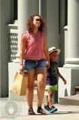 Alicia Keys with her stepson, Kassem Dean Jr