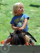 Zuma Rossdale at Underwood Farms in LA