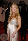 A pregnant Kate Hudson at the MET gala