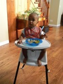 Babybjorn highchair In Use