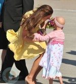 Kate Middleton and Diamond Marshall in Calgary