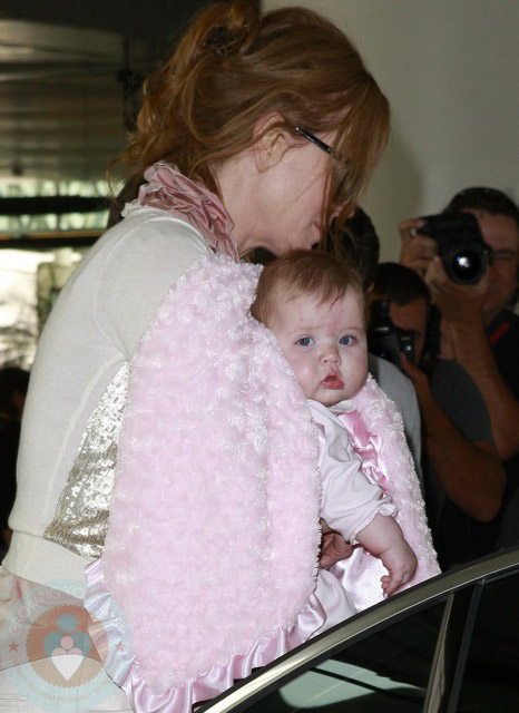 Nicole Kidman with daughter Faith Margaret