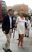 Pregnant Ivanka Trump and Jared Kushner