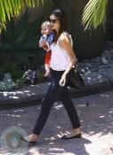 Miranda Kerr and son Flynn Bloom