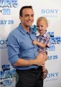 Hank Azaria with son  Hal