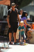 Dean McDermott with son Liam