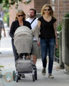 Martha and Alexis Stewart with newborn Jude
