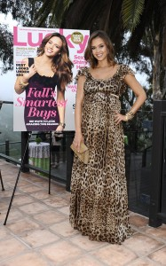 Jessica Alba attends Lucky Magazine And ThisNext Celebrate Partnership 2