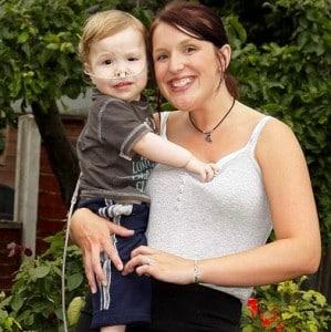 Kian Hill & his mom Natalie