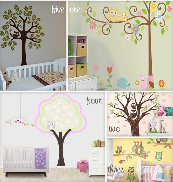 Room Mates Scroll Tree Megapack 40 The Set Comes With 80 Decals Embled Is 64 X 58