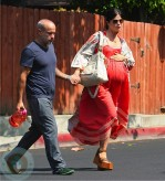 Very Pregnant Selma Blair in LA