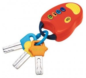 RECALL: 1 Million Toy Keys with Remote by Battat Due to Choking Hazard