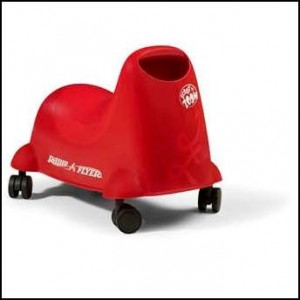 RECALL: 165,000 Radio Flyer Scoot 'n Zoom Riding Toys Due to Fall Hazard
