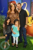 Maria Canals- Barrera with husband David and daughters Bridget and Madeleine