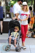 Naomi Watts and with son Samuel