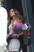 Jennifer Lopez with daughter Emme