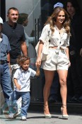 Jennifer Lopez with son Emme