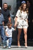 Jennifer Lopez with son Emme