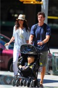 Bethenny Frankle with husband Jason and daughter Bryn Hoppy
