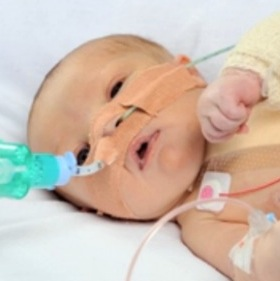 Baby Girl with Half a Heart Saved by Pioneering Surgery