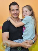 Antonio Sabato Jr. and daughter Mina Bree