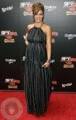 A pregnant Jessica Alba at Spy Kids 4 premiere