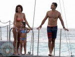 David Charvet and Brooke Burke with daughter Heaven