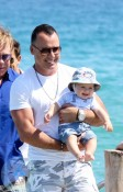David Furnish with Zachary in St