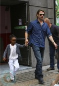 Brad Pitt and daughter Zahara