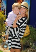 Julie Bowen and her son