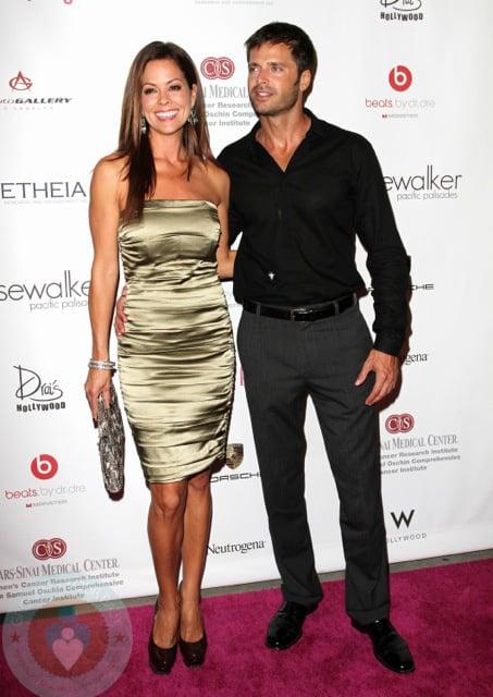 Brooke Burke and David Charvet
