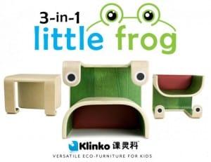 Klinko 3-in-1 little frog